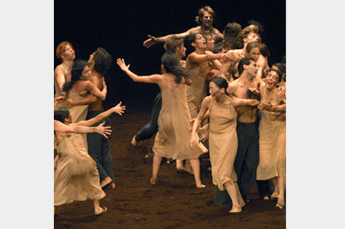 Tanztheater Wuppertal Pina Bausch 'The Rite of Spring'