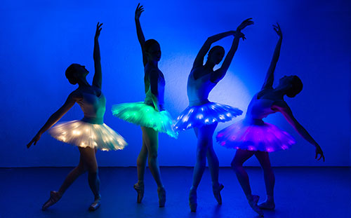 LED Ballerinas